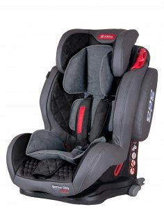 Fotelik COLETTO Sportivo Only Isofix 9-36 kg GREY
