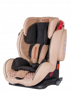 Fotelik COLETTO Sportivo Only Isofix 9-36 kg BEIGE