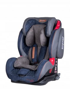 Fotelik COLETTO Sportivo Only Isofix 9-36 kg BLUE