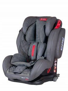 Fotelik COLETTO Sportivo Only Isofix 9-36 kg GREY2