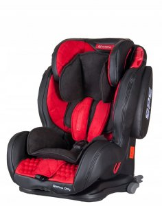 Fotelik COLETTO Sportivo Only Isofix 9-36 kg RED