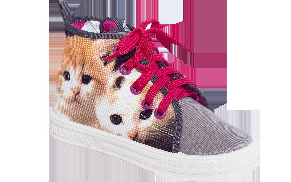 ZETPOL trampki tenisówki dziewczęce Wiki kot
